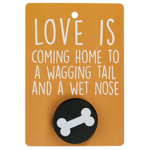 Hondenriemhanger (Pooch Pal) - DL15 -  Love Is Coming Home To