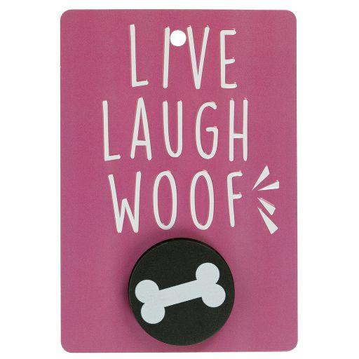 Hondenriemhanger (Pooch Pal) - DL18 - Live, Laugh, Woof