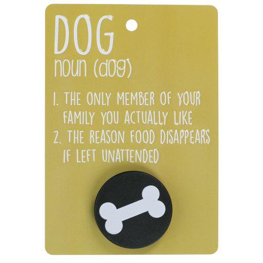 Hondenriemhanger (Pooch Pal) - DL25 - Dog Noun
