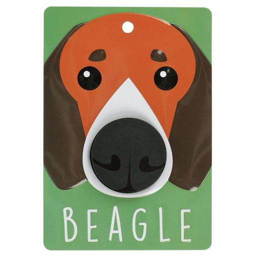Hondenriemhanger (Pooch Pal) - DL35 - Beagle - Red and White