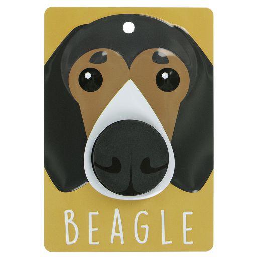 Hondenriemhanger (Pooch Pal) - DL36 - Beagle - Tri Colour