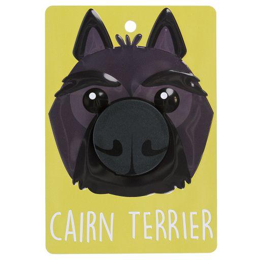 Hondenriemhanger (Pooch Pal) - DL49 - Cairn Terrier - Black