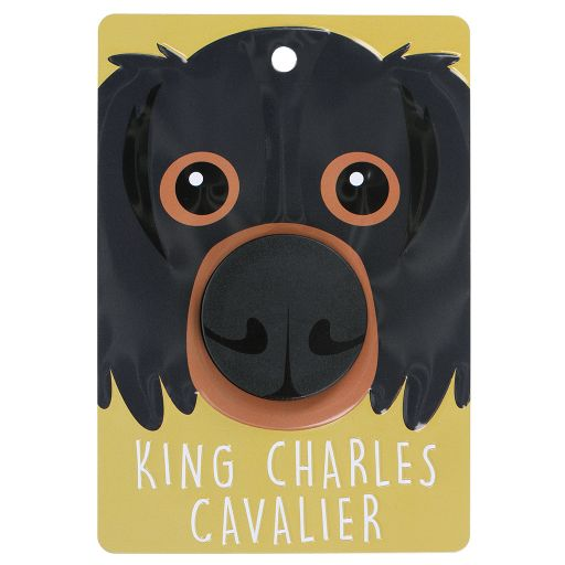 Hondenriemhanger (Pooch Pal) - DL80 - King Charles Cavalier - Brown and Tan