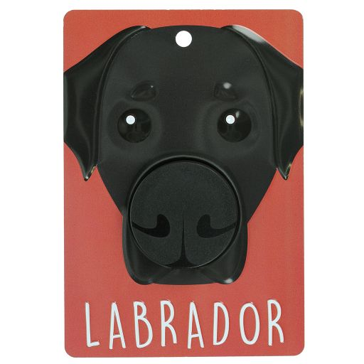 Hondenriemhanger (Pooch Pal) - DL82 - Labrador - Black