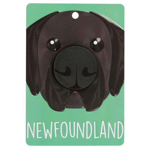 Hondenriemhanger (Pooch Pal) - DL88 - Newfoundland - Black