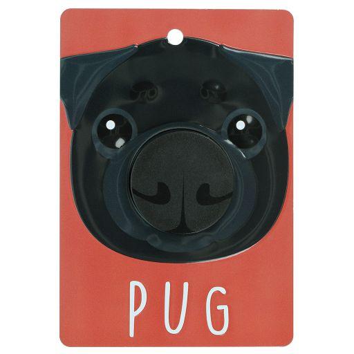 Hondenriemhanger (Pooch Pal) - DL96 - Pug - Black