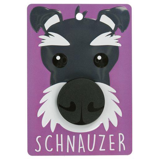 Hondenriemhanger (Pooch Pal) - DL102 - Schnauzer