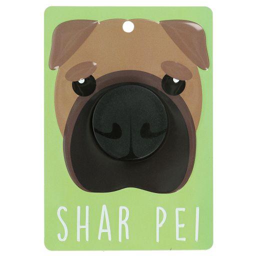 Hondenriemhanger (Pooch Pal) - DL104 - Shar Pei