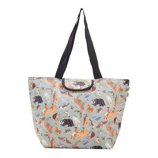 Eco Chic - Large Cool Bag - E02OE - Olive - Woodland