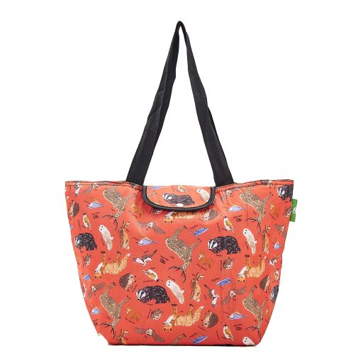 Eco Chic - Large Cool Bag - E02RD - Red - Woodland