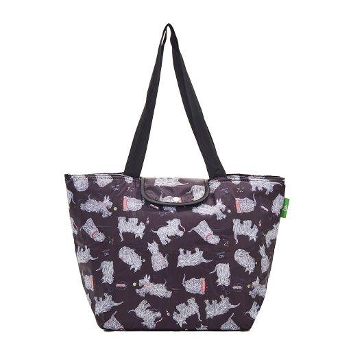 Eco Chic - Large Cool Bag - E04BK - Black - Scatty Scotty
