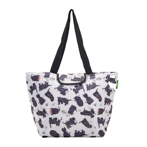 Eco Chic - Large Cool Bag - E04WT - White - Scatty Scotty
