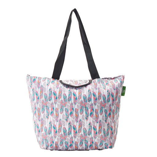 Eco Chic - Large Cool Bag - E11WT - White - Feather