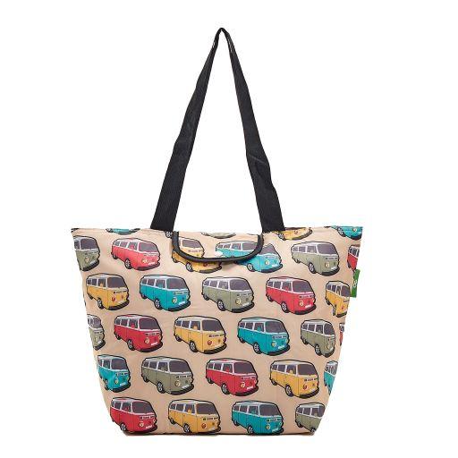 Eco Chic - Large Cool Bag - E12BG - Beige - Camper Vans