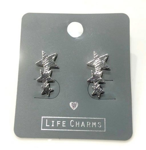 Life Charms - EAR123 - Oorbellen - Stargazer