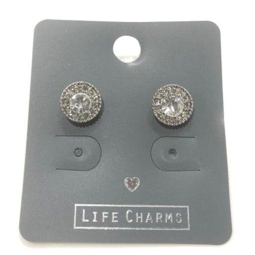 Life Charms - EAR128 - Oorbellen - Princess