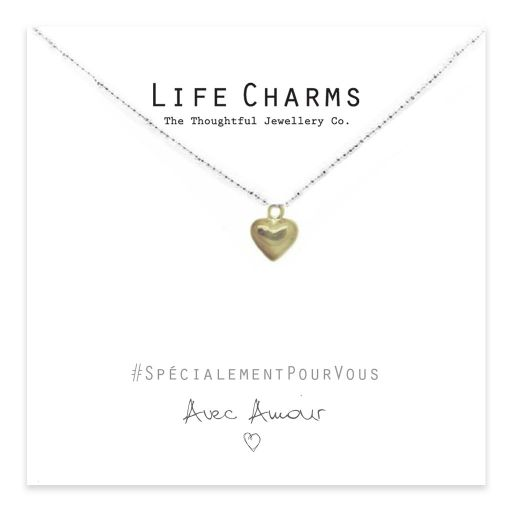 Life Charms - EFY014N - Necklace Gold Heart