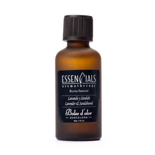Boles d'olor Essencials Bruma geurolie 50 ml - Lavanda y Sándalo  - Lavendel en Sandelwood