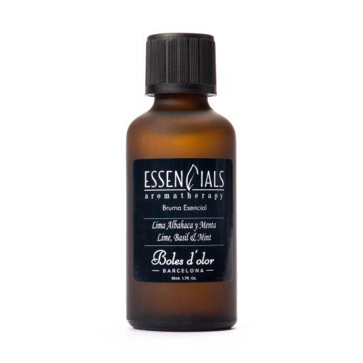 Boles d'olor Essencials Bruma geurolie 50 ml - Lima, Albahaca y Menta - Limoen, Basilicum en Munt