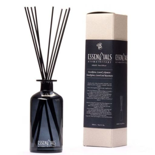 Boles d'olor Essencials Geurstokjes 300 ml - Eucaliptus, Laurel y Romero - Eucalyptus, Laurier en Rozemarijn