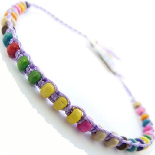 Friendship Bracelet - A1 Lilac