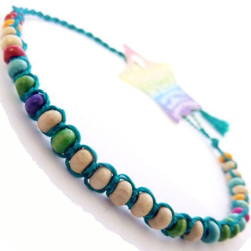 Friendship Bracelet - A2 Teal Green
