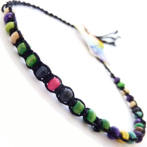 Friendship Bracelet - A5 Black