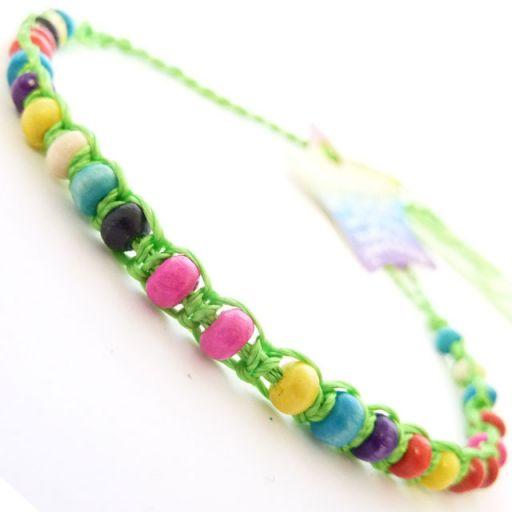 Friendship Bracelet - A9 Lime Green