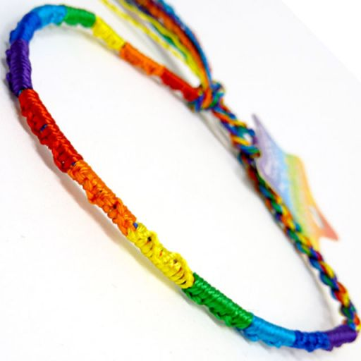 660051 - WB Friendship Bracelet - F1 Rainbow