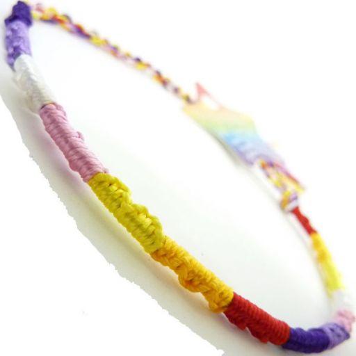 660060 - WB Friendship Bracelet - F10 Multi colour