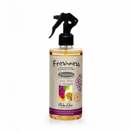 Roomspray Freshness - Entre Uvas y Naranjos - Druiven en Sinaasappels (Boles d'olor)