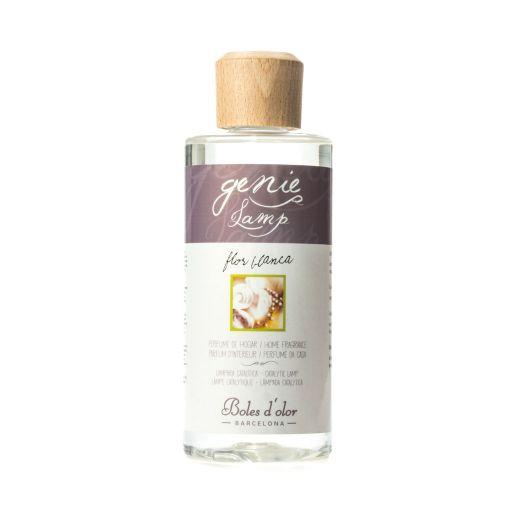 Genie lamp olie Witte Bloemen