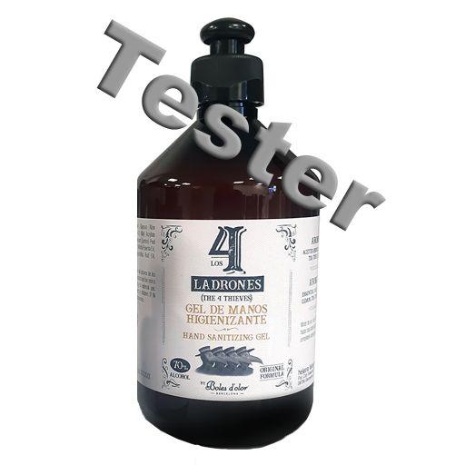 TESTER Boles d'olor -  4 DIEVEN -  handgel 500 ml