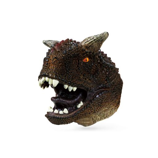 Animal Hand Puppet - DINO collectie - Carnotaurus
