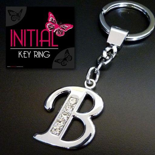 Sleutelhanger - Initial Jewellery - Letter B