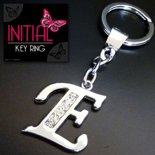 Sleutelhanger - Initial Jewellery - Letter E