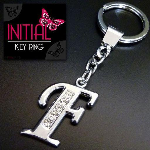 Sleutelhanger - Initial Jewellery - Letter F