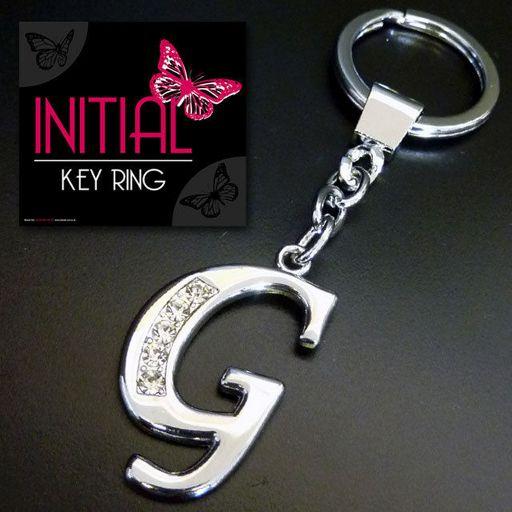 Sleutelhanger - Initial Jewellery - Letter G