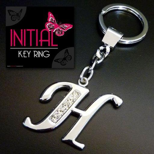 Sleutelhanger - Initial Jewellery - Letter H
