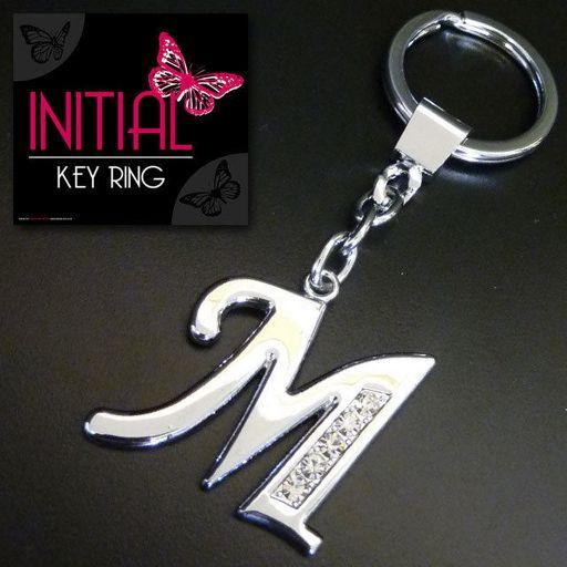 Sleutelhanger - Initial Jewellery - Letter M