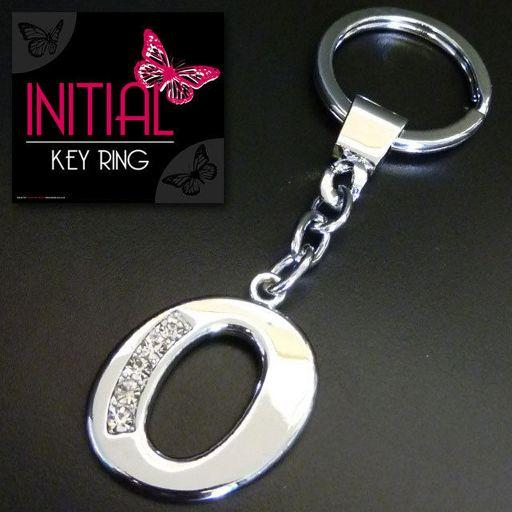 Sleutelhanger - Initial Jewellery - Letter O