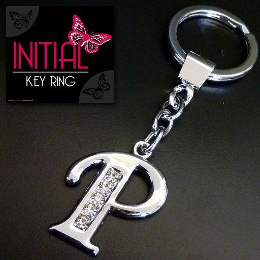 Sleutelhanger - Initial Jewellery - Letter P