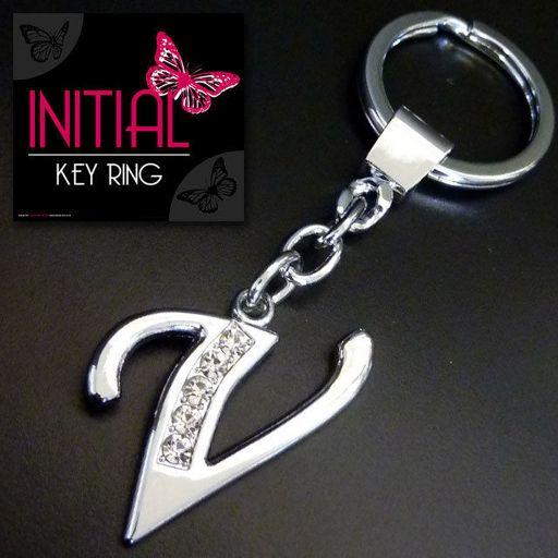 Sleutelhanger - Initial Jewellery - Letter V