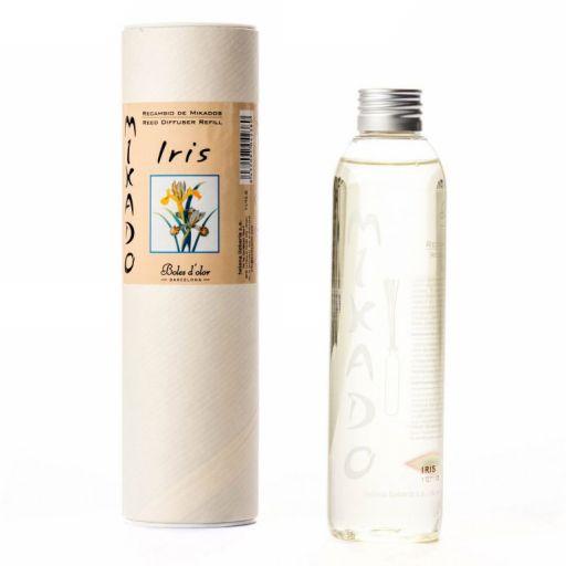 Boles d'olor Woodies navulling geurolie geurstokjes - Iris