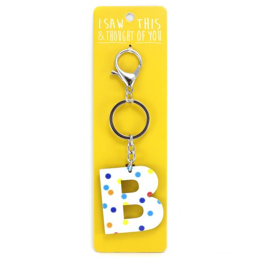 Keyring - I saw this & thought of You - B