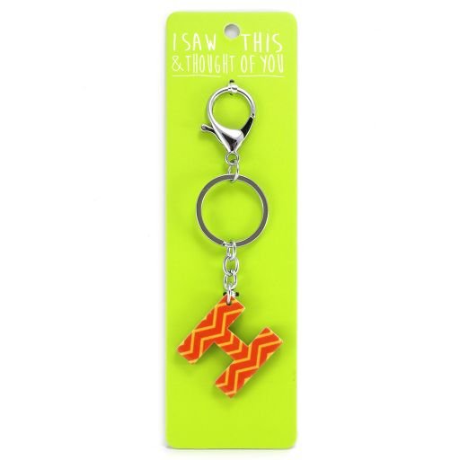 Keyring - I saw this & thought of You - H