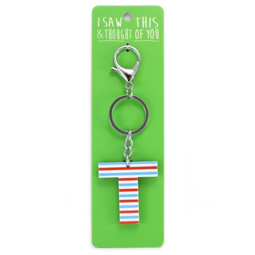 Keyring - I saw this & thought of You - T