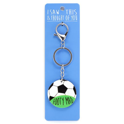 Keyring - I saw this & I thougth of You - Footy Mad