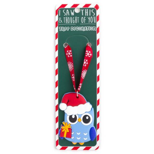 ISXM0056- Tree Decoration - Owl
