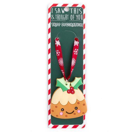ISXM0064- Tree Decoration - Christmas Pudding